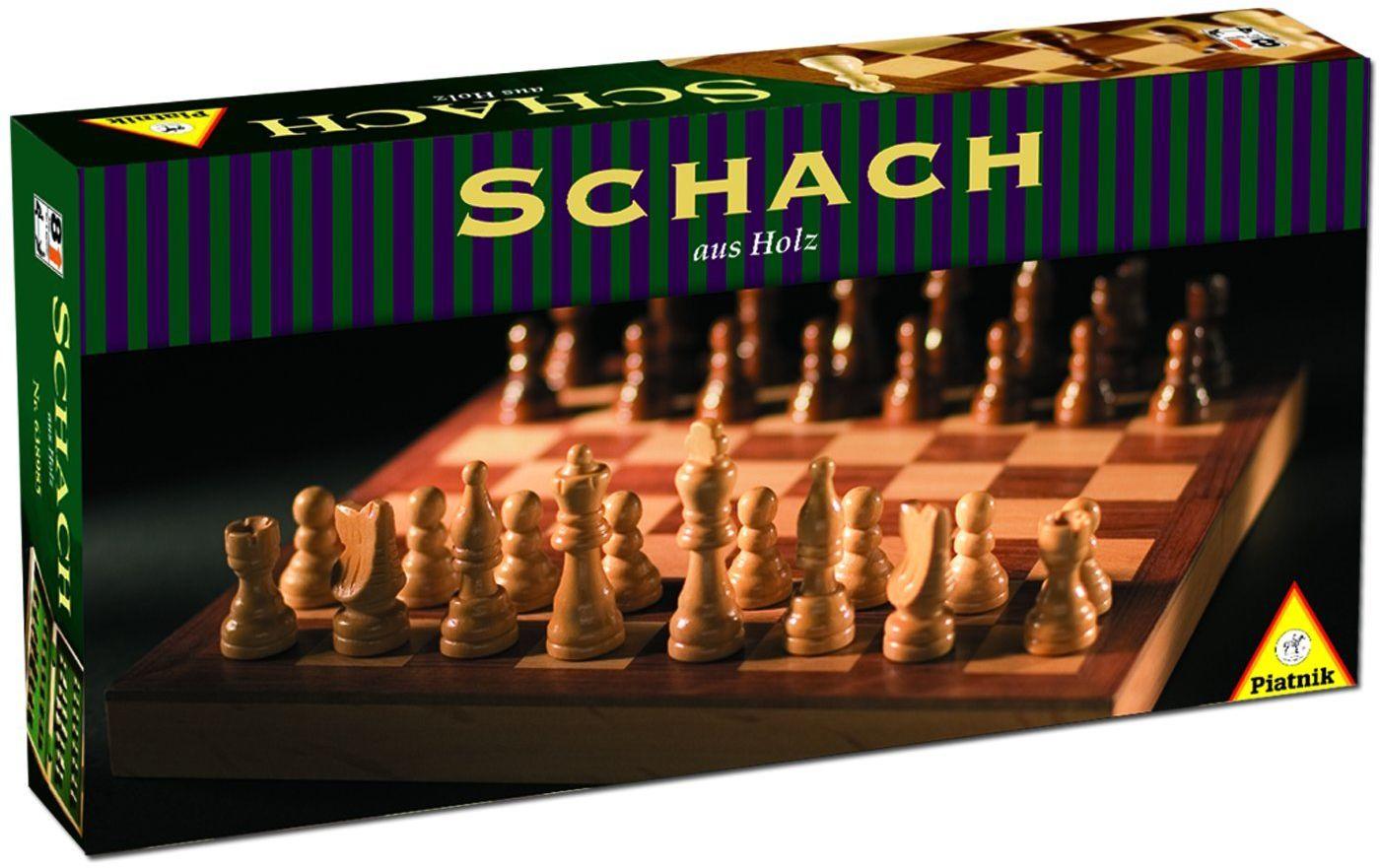 Kaseta szachowa drewniana mała