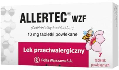 Allertec WZF 10mg 7 tabletek
