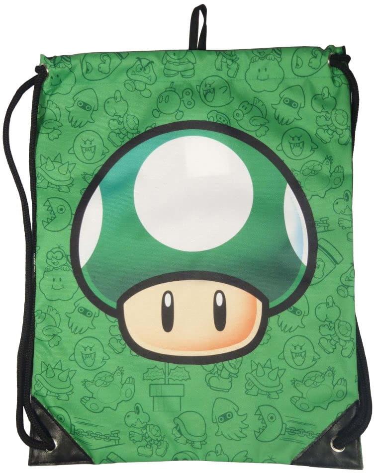 Torba sportowa Mario Green Mushroom