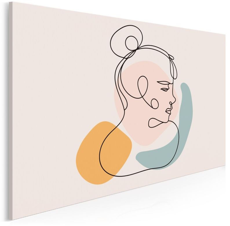 Ofelia - nowoczesny obraz na płótnie - 120x80 cm