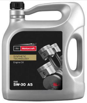 olej silnikowy Motorcraft A5 5w30 - 5 litrów 15CF54