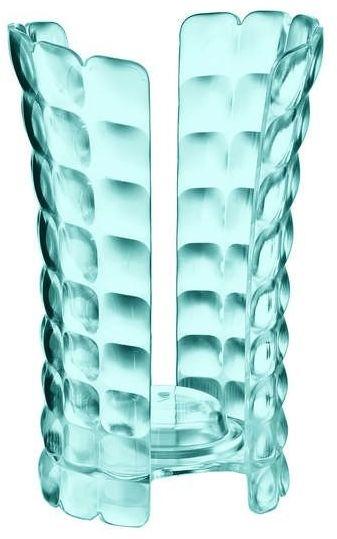 Guzzini - tiffany - pojemnik na kubki jednorazowe, niebieski