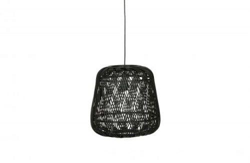Lampa wisząca Moza bambusowa czarna