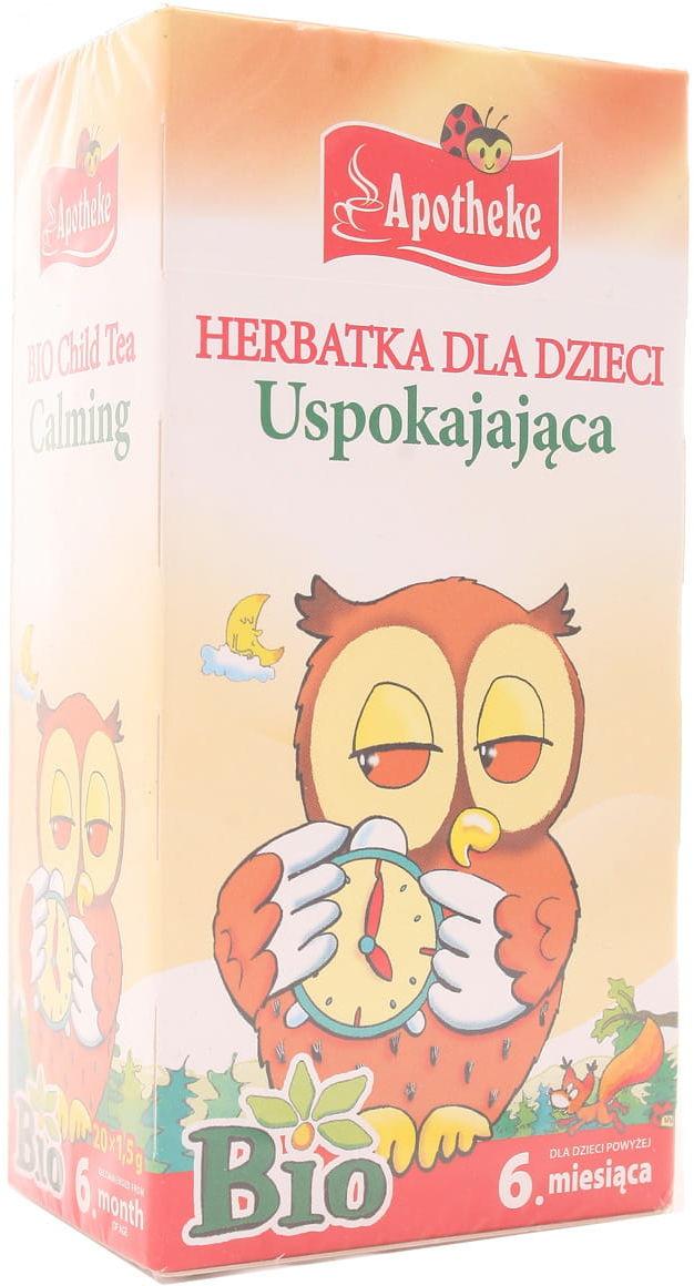 Herbatka dla dzieci uspokajająca BIO - Apotheke - 20sasz