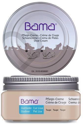 Krem do obuwia BAMA Premium 218 Taupe 50ml w słoiczku - Beżowy