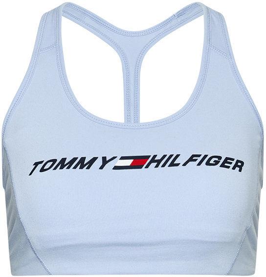 Tommy Hilfiger Biustonosz top Light Intensity Graphic S10S100973 Niebieski