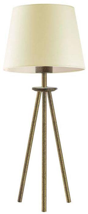 Mała lampka do sypialni na złotym stelażu - EX918-Berges - 18 kolorów