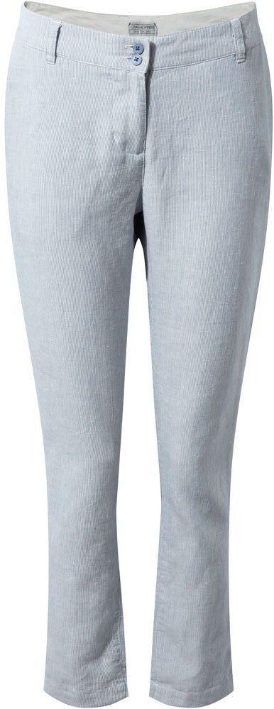 Craghoppers damskie spodnie Odette China Blue Stripe 16