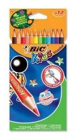 Kredki ołówkowe Bic Evolution 12 kolorów 60963