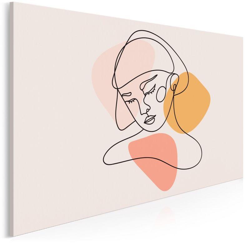 Laura - nowoczesny obraz na płótnie - 120x80 cm