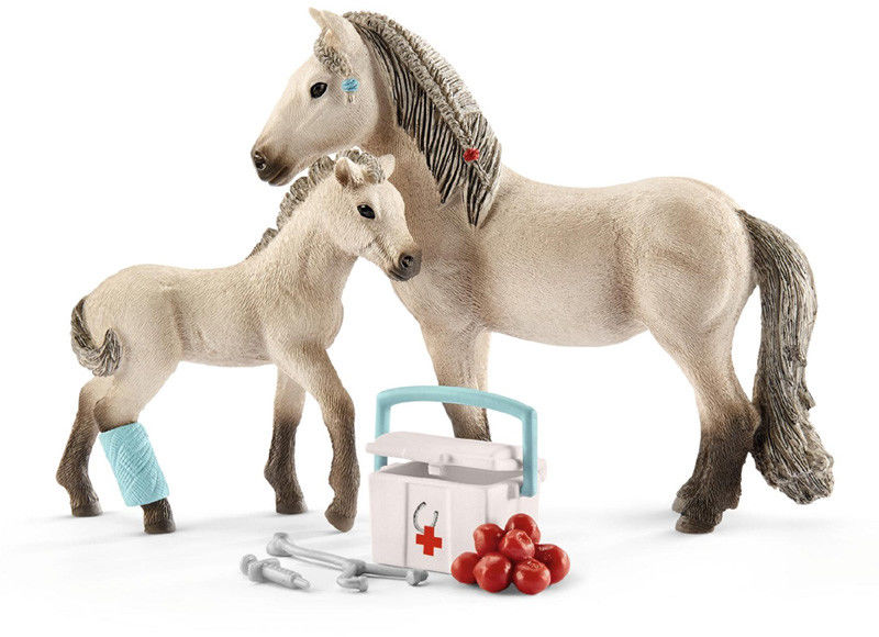 Schleich - Islandzki koń i apteczka 42430