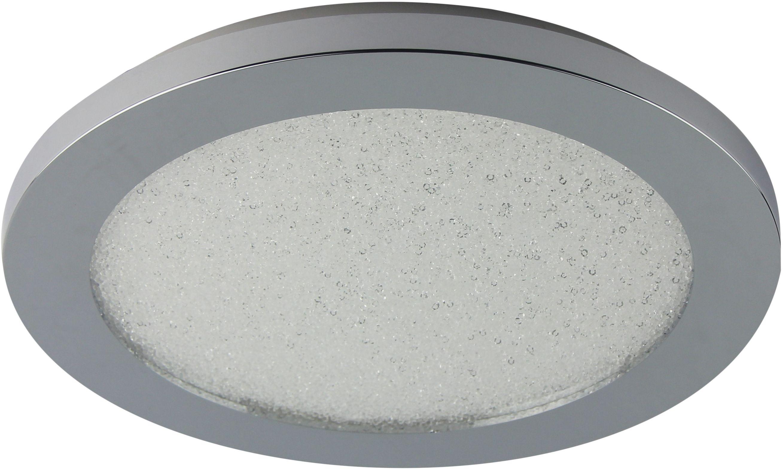 Candellux PIXEL 10-67401 plafon lampa sufitowa chrom+granila regulacja jasności świecenia 12W LED 3000K 22,5cm IP44
