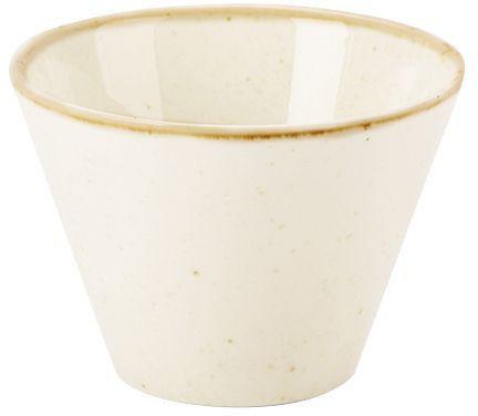 Spodek do filiżanki do espresso Iris 115 mm porcelana Fine Dine 778289