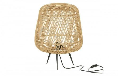 Lampa stołowa Moza bambusowa naturalna