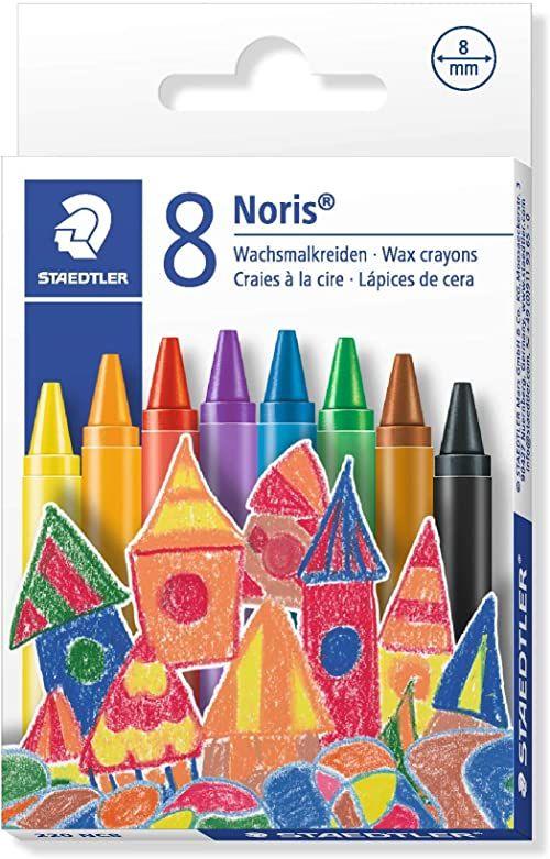 STAEDTLER 220 NC8 kreda świecowa Noris Club, 8 sztuk w etui