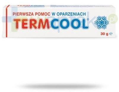 Termcool na oparzenia żel łagodzący 30 g