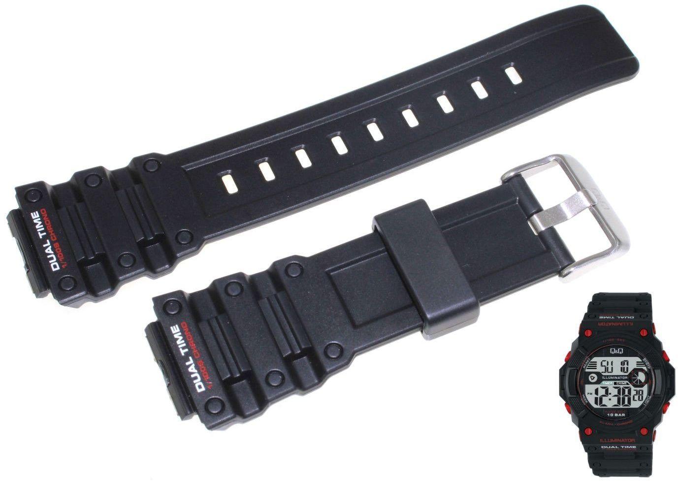 Pasek do zegarka Q&Q M140-001 20 mm Tworzywo