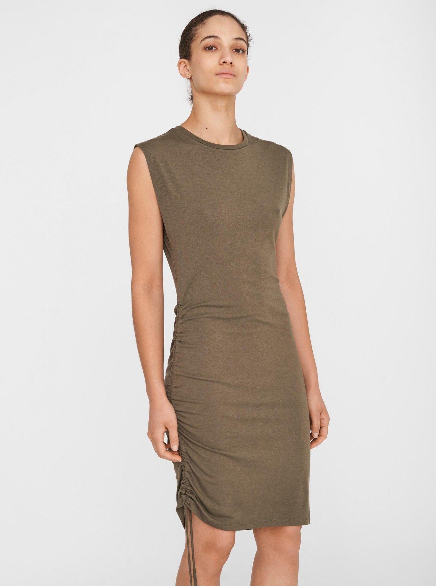 Noisy May khaki sukienka ołówkowa Multo
