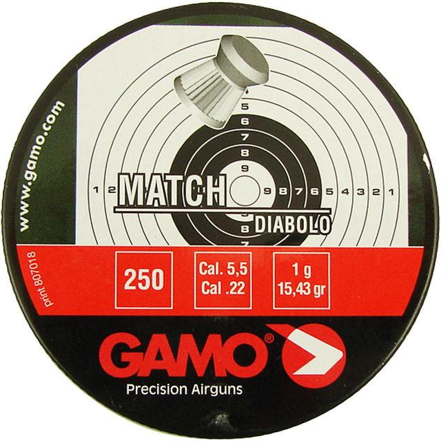 Śrut Gamo Match 5,5 mm 250szt (6320025)
