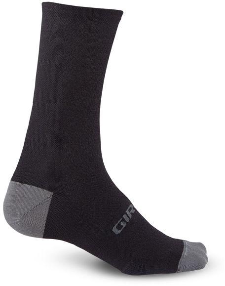 GIRO skarpety rowerowe hrc + merino wool black charcoal GR-7077534 Rozmiar: 43-45,GR-7077534