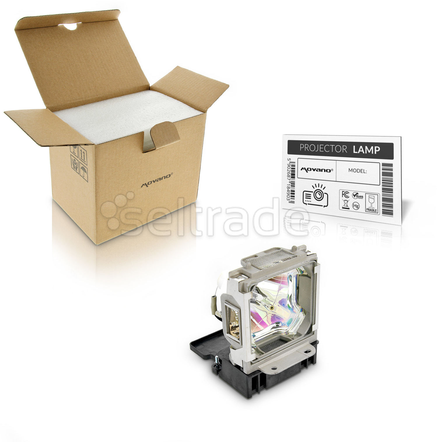 Lampa do projektora Mitsubishi XL6500, XL6600 VLT-XL6600LP