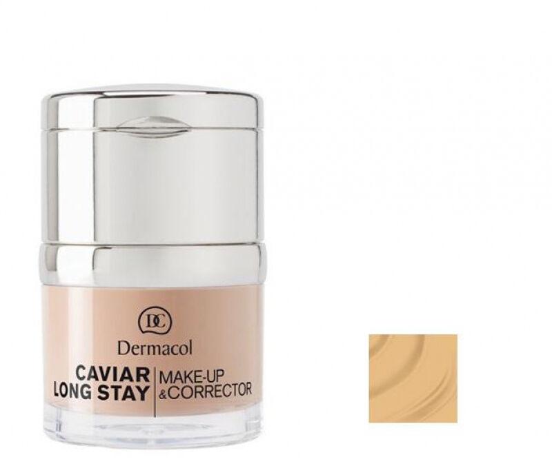 Dermacol - Caviar Long Stay Make-Up & Corrector - Długotrwały podkład i korektor - 2 - FAIR