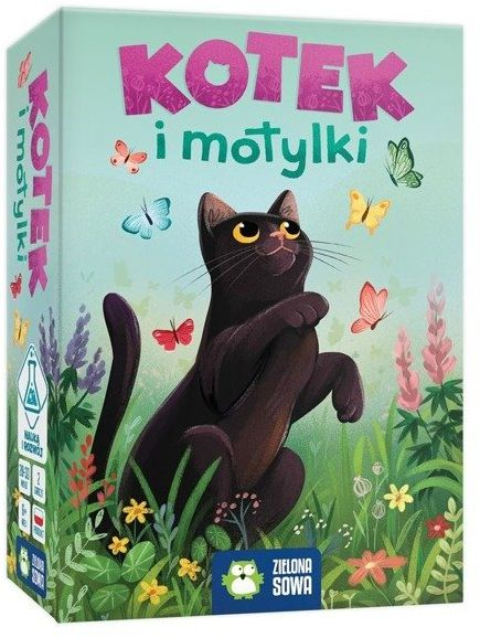 Kotek i motylki Gra - Piotr Siłka