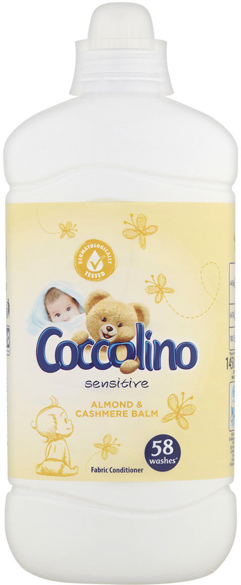 Coccolino Creations Płyn do płukania tkanin Sensitive Almond & Cashmire 1,45L