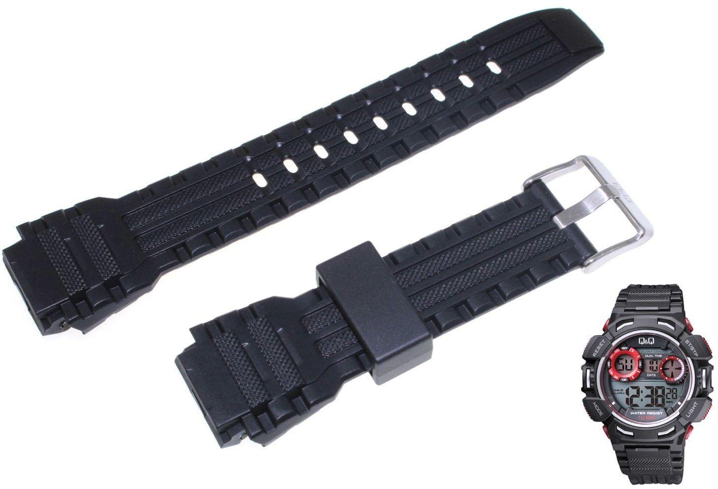 Pasek do zegarka Q&Q M148-002 20 mm Tworzywo