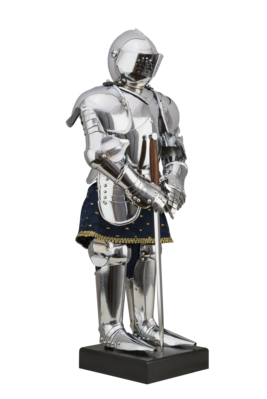 NIEMIECKA ZBROJA RYCERSKA XIII - XIV WIEK 66 cm WS300000