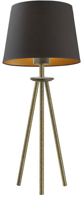 Elegancka lampka nocna na złotym stelażu - EX924-Bergel - 5 kolorów