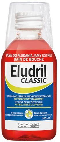 Eludril Classic płyn do płukania jamy ustnej 200 ml