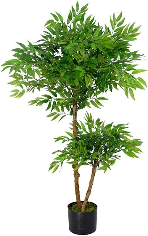 Leaf Sztuczne drzewko Ficus, luksusowe, 100 cm