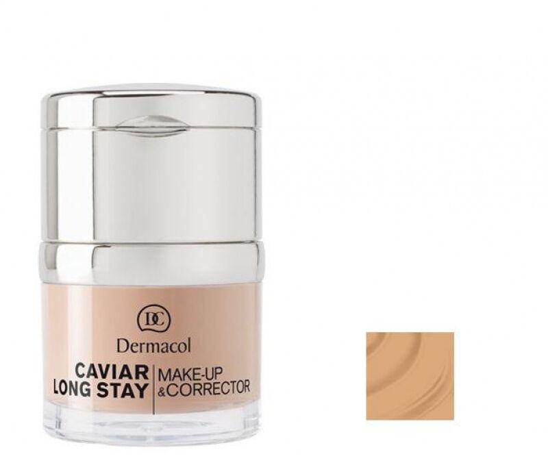 Dermacol - Caviar Long Stay Make-Up & Corrector - Długotrwały podkład i korektor - 3 - NUDE