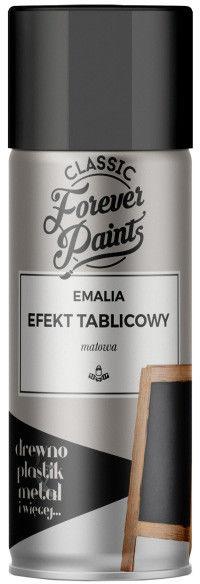 Emalia efekt tablicowy Forever Paints 400 ml czarna