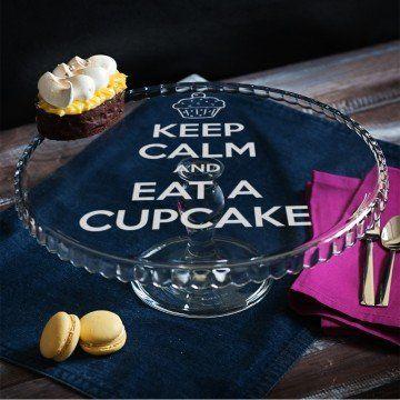 Eat cupcake - Patera