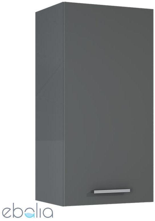 Elita Kwadro Plus szafka wisząca anthracite 40 1D głębokość 31 166781