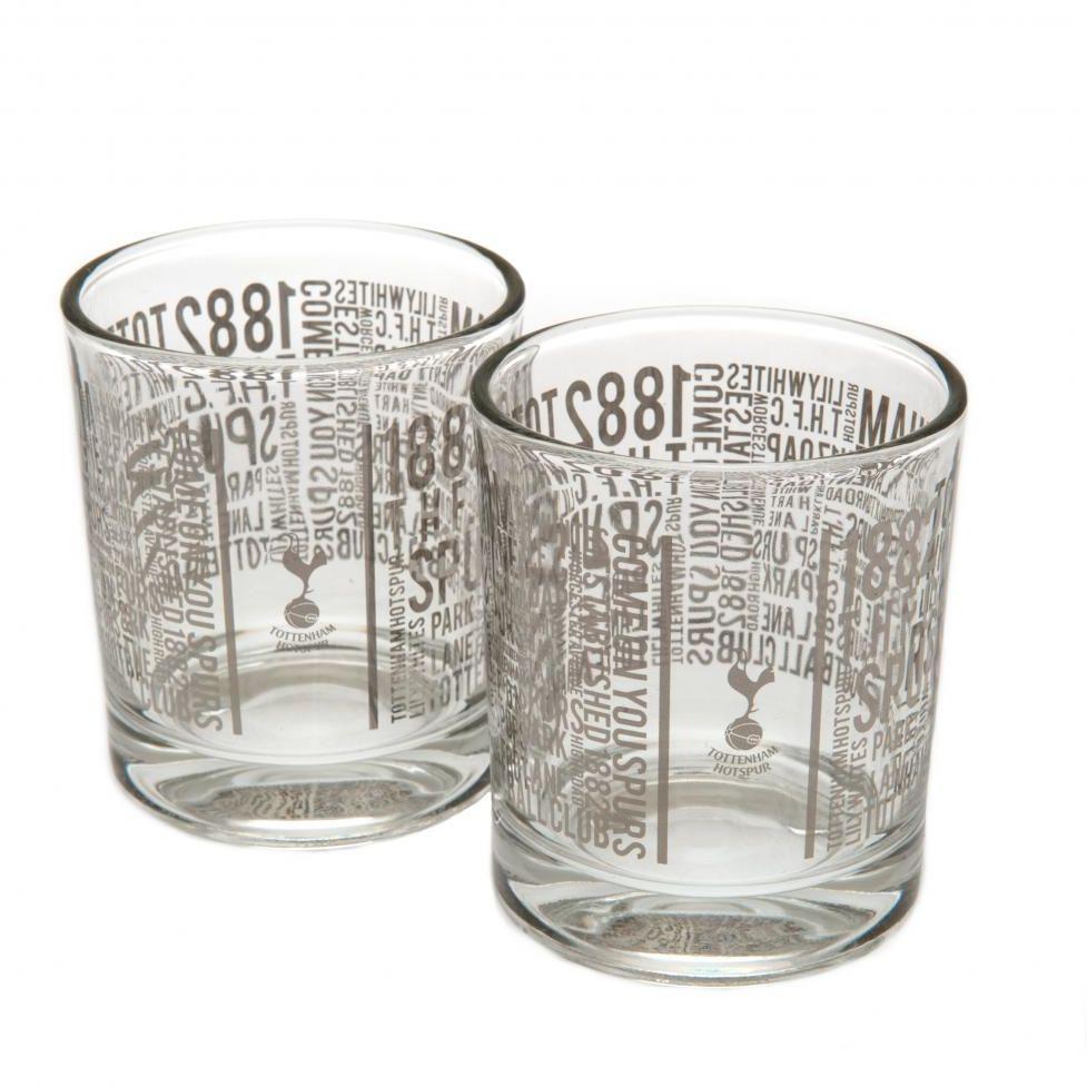 Tottenham Hotspur - szklanki do whisky