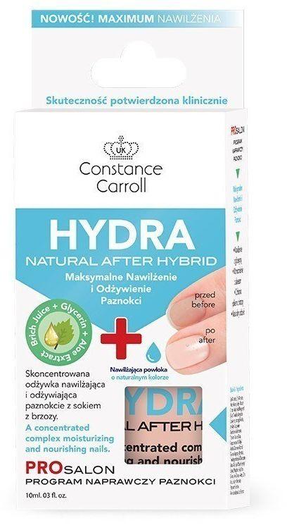 CONSTANCE CARROLL Constance Carroll Nail Care Odżywka do paznokci Hydra Natural After Hybrid 10ml