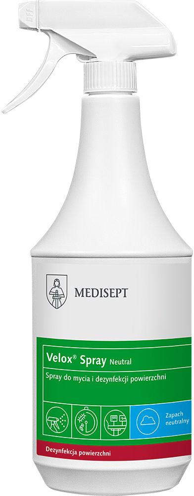 Velox Spray płyn do mycia i dezynfekcji Neutral 1 litr