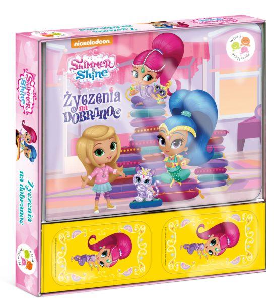 Shimmer i Shine Wśród przyjaciół Życzenia na dobranoc (karty do gry)
