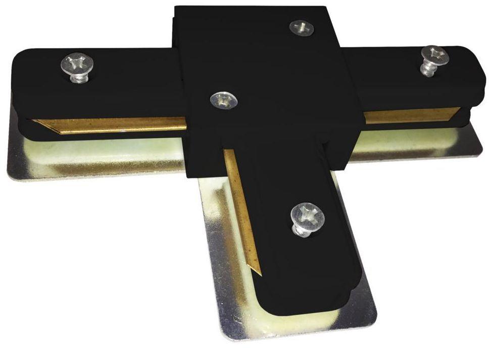 Łącznik T do systemu szynowego Track Light czarny Eko-Light