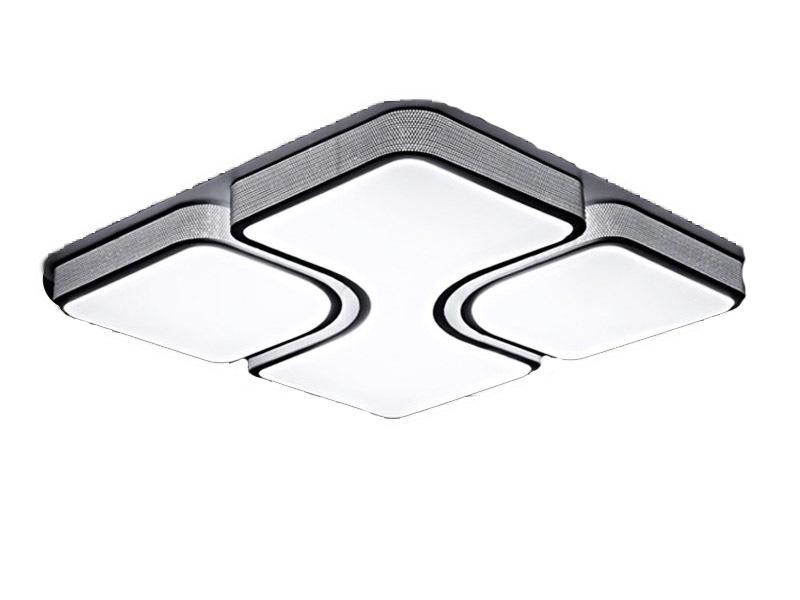 Plafon LED z pilotem Biały 86,5x86,5cm - P001