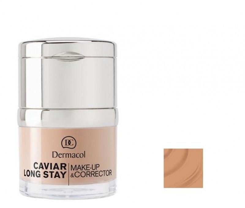 Dermacol - Caviar Long Stay Make-Up & Corrector - Długotrwały podkład i korektor - 4 - TAN