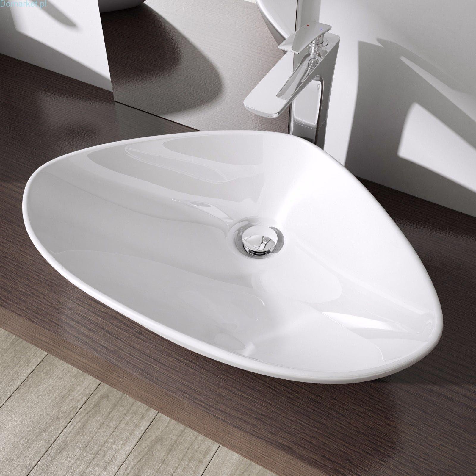 Umywalka C215 Nablatowa Ceramiczna 60cm