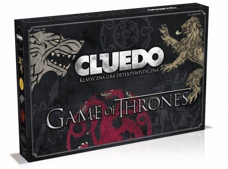 Gra o tron - Cluedo - gra detektywistyczna