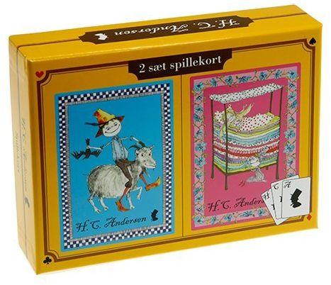 Barbo Toys Barbo Toys6134 zabawki Barba 2 zestawy pudełko na karty do gry, wielokolorowe