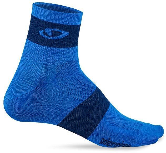 GIRO skarpety rowerowe comp racer blue midnight GR-7085777 Rozmiar: 43-45,GR-7085777
