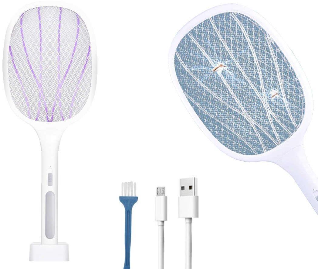 Lampa owadobójcza 6 LED UV Alogy przenośna łapka na owady insekty Biała