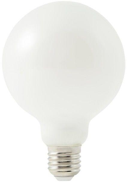 Żarówka LED Diall G95 E27 9 W 1055 lm mleczna barwa ciepła